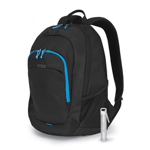 Batoh Dicota Backpack Power Kit Value 14''-15,6'', čierny + Power Bank
