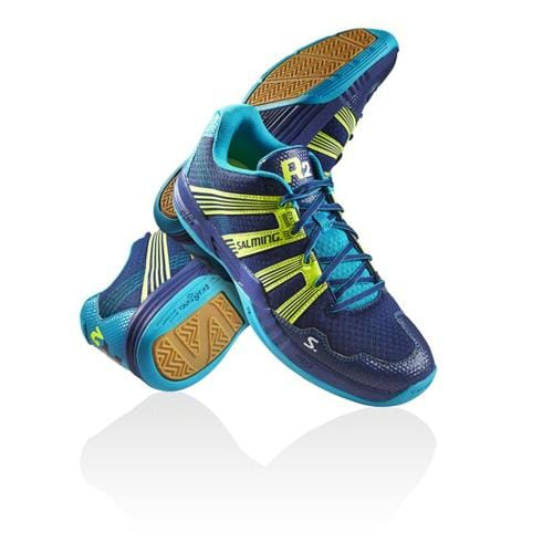 SALMING Race R2 3.0 Navy/Safety Yellow 6,5 UK, 40 2/3 EUR