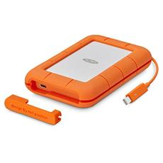 Ext. SSD LaCie Rugged Thunderbolt USB-C 500GB