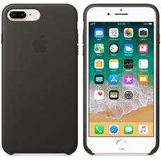Apple iPhone 8 Plus / 7 Plus Leather Case - Charcoal Gray