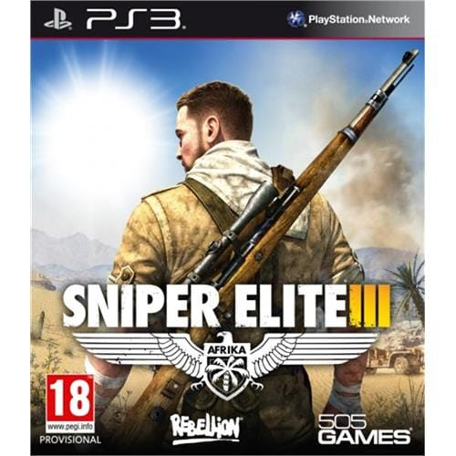 PS3 hra - Sniper Elite 3