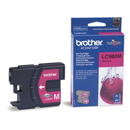 Kazeta BROTHER LC-980 Magenta DCP-145C/165C