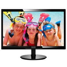 "Monitor Philips 246V5LSB/00, 24"", LED, 1920x1080, 10 000 000:1, 5ms, 250cd, D-SUB, DVI, čierny"