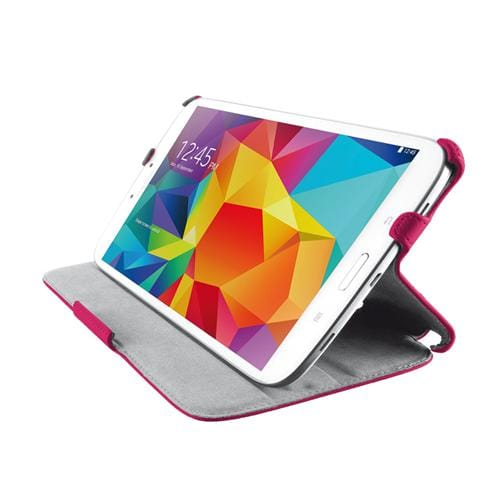 TRUST Stile Folio Stand for Galaxy Tab4 7.0 - pink
