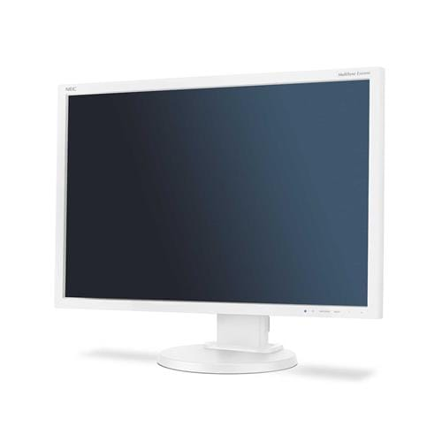 Monitor NEC E245WMi, 24'', LED, 1920x1200, IPS, DP, rep, piv, biely