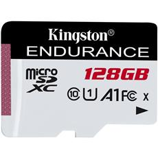 128GB microSDXC Kingston Endurance CL10 A1 95R/45W bez adaptéru