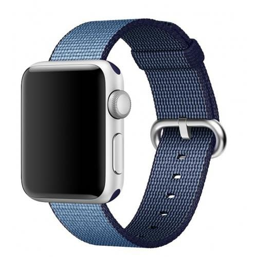 Apple 38mm Navy/Tahoe Blue Woven Nylon