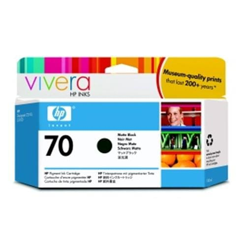 Kazeta HP HPC9448A No. 70, 130ml, matte black cartridge with Vivera Ink.