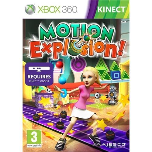 XBOX 360 hra - Motion Explosion