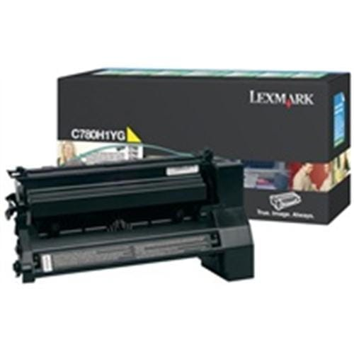 Toner LEXMARK yellow C780/C782 10.000 str.