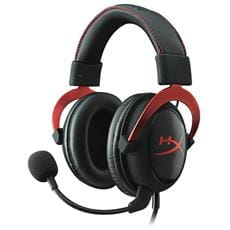 Headset Kingston HyperX Cloud II - červený