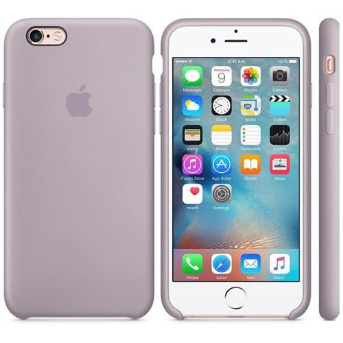 Apple iPhone 6S Silicone Case Lavender