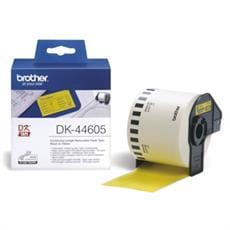 Rolka BROTHER DK44605 Removable Yellow Paper Tape (Žltá 62mm)