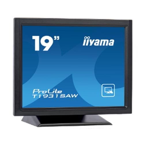 Monitor iiyama T1931SAW, 19'' Touch, LCD, 1280x1024, 900:1, 5ms, 230cd, D-SUB, DVI, USB, RS-232C