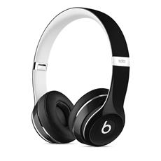 Apple Beats Solo2 On-Ear Headphones Luxe - Black