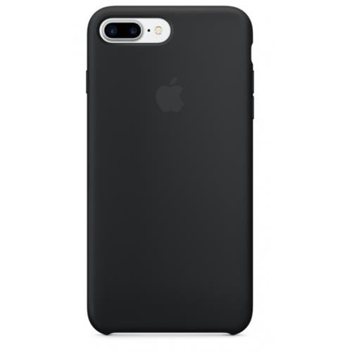 Apple iPhone 7 Plus Silicone Case - Black