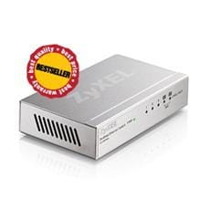Switch Zyxel ES-105A, 5-port 10/100Mbps Ethernet switch, 2x QoS (!), desktop