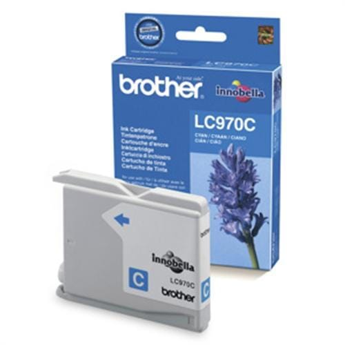 Kazeta BROTHER LC-970 Cyan DCP-135C/150C, MFC-235C/260C