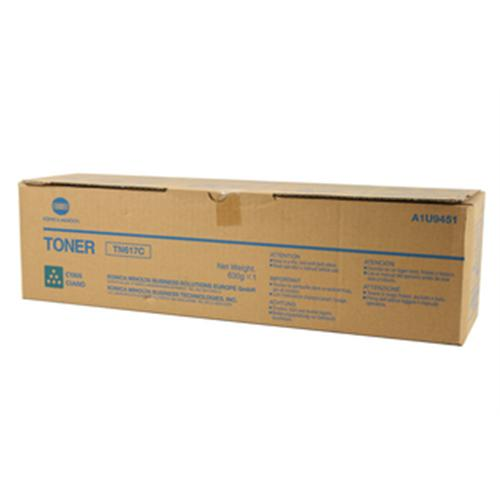 toner MINOLTA TN617C Bizhub PRESS C70hc cyan