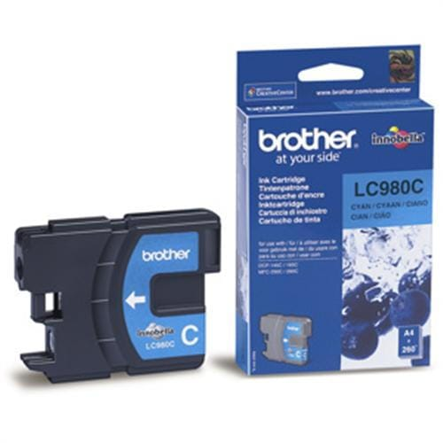 Kazeta BROTHER LC-980 Cyan DCP-145C/165C