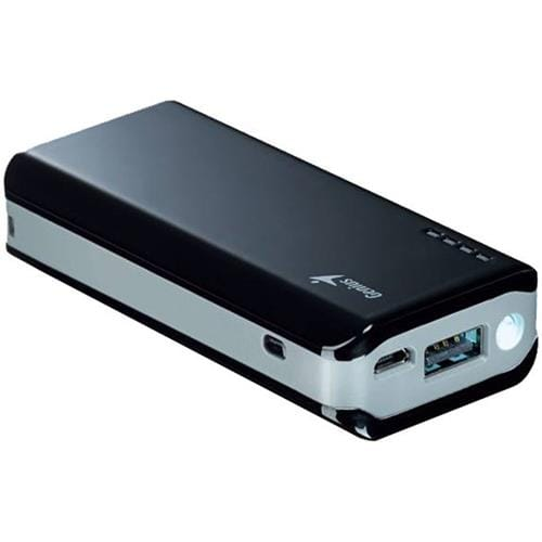 GENIUS power bank ECO-u622, 6 000 mAh, black Samsung