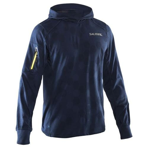 SALMING Run Hexagon Hood Men Navy S