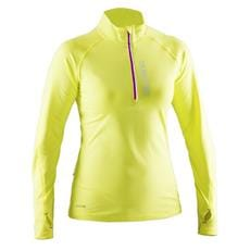 SALMING Running Halfzip LS Women Acid Green XL
