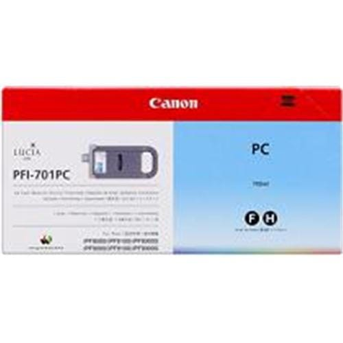 Kazeta CANON PFI-701PC photo cyan iPF 8000/8100/9000/9100