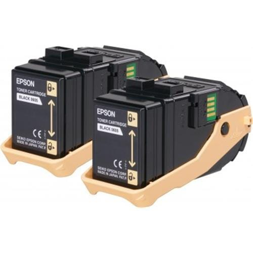 Toner EPSON Aculaser C9300 black double pack 2x 6500str.