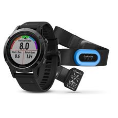 Garmin fénix 5 Grey, Black band, Performer Bundle