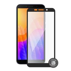 Screenshield HUAWEI Y5p (2020) Tempered Glass protection (full COVER black)