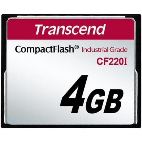 Transcend 4GB CF Card (100X) Industrial (Fixed disk and UDMA5 mode)
