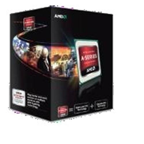 AMD, Trinity A6-Series X2 5400K X2 Processor BOX, soc. FM2, 65W, Radeon TM HD 7540D, Black Edition