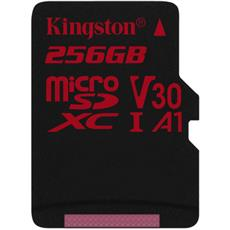 256GB microSDXC Kingston Canvas React U3 100R/80W bez adapt.