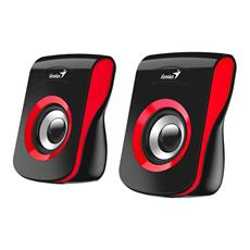 Speaker GENIUS SP-Q180, RED, USB, 6W