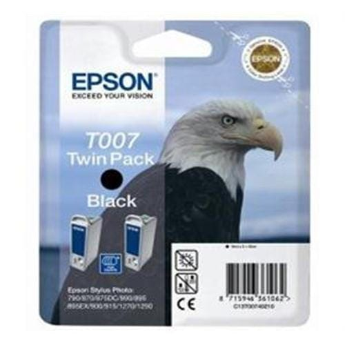 Kazeta EPSON SP 870/875/895/1290 2-pack black