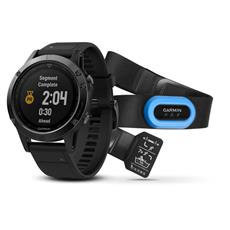 Garmin fénix 5 Sapphire, Black band, Performer bundle