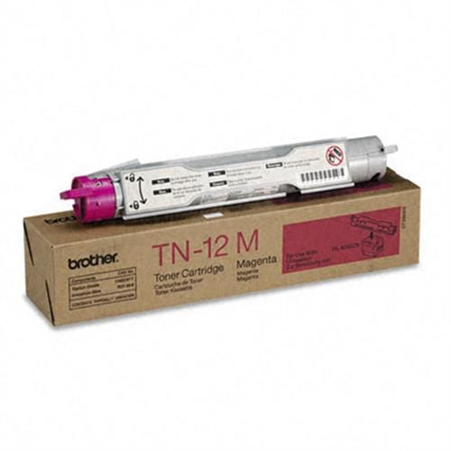 Toner BROTHER TN12M Magenta, 6 000 str.pro HL-4200CN