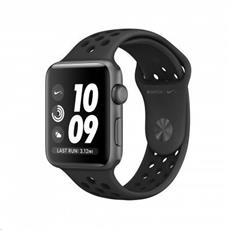 Apple Watch Nike+ Series 3 GPS, 38mm Space Grey Aluminium Case with Anthracite/Black Nike Sport Band