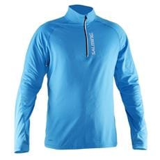 SALMING Running Halfzip LS Tee Men Cyan Blue XL