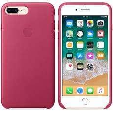 Apple iPhone 8 Plus / 7 Plus Leather Case - Pink Fuchsia