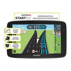 TomTom START 62 Europe, LIFETIME mapy