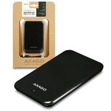 AXAGO USB2.0 - SATA 2.5'' externý PURE box BLACK