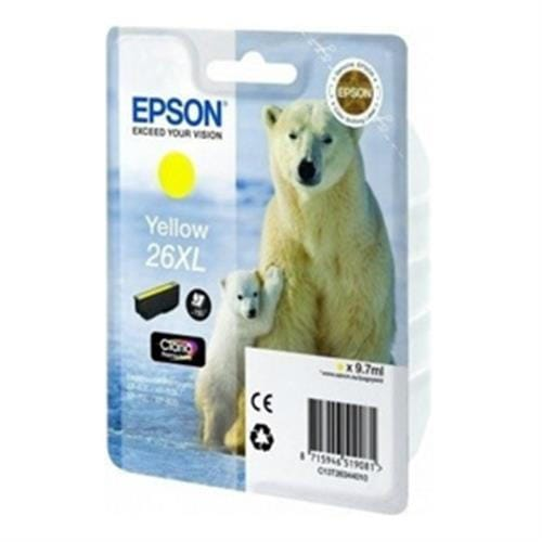 Kazeta EPSON XP-600/700 T2634 26XL Claria Yellow