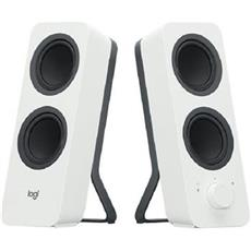 Logitech Speakers Z207 Stereo 2.0, bluetooth, white