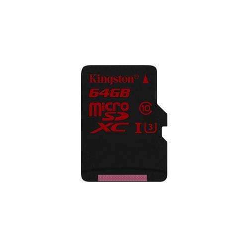 Kingston 64GB microSDXC U3 90R/80W bez adaptéra