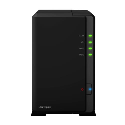 Synology™ DiskStation DS218play 2x HDD NAS