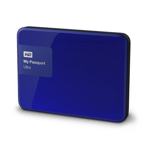 Ext. HDD 2.5'' WD My Passport Ultra 1TB, USB, modrý