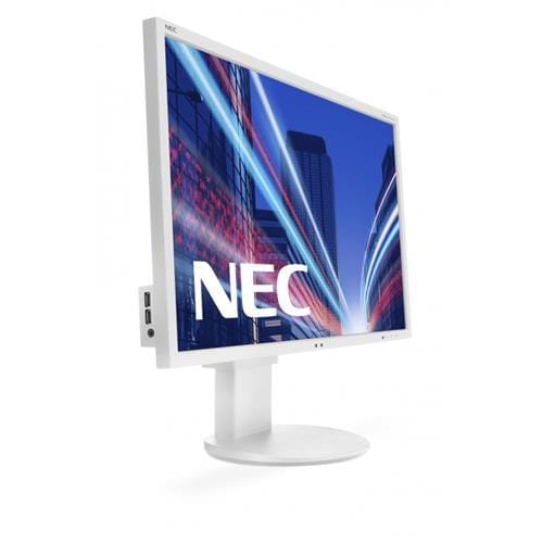 Monitor NEC MultiSync LCD EA244WMi-BK, 24, W-LED IPS, 1920x1200/60Hz, 1000:1, 5ms, 350cd, audio, D-SUB, DVI, DP, HDMI, USB (1+4), sivý