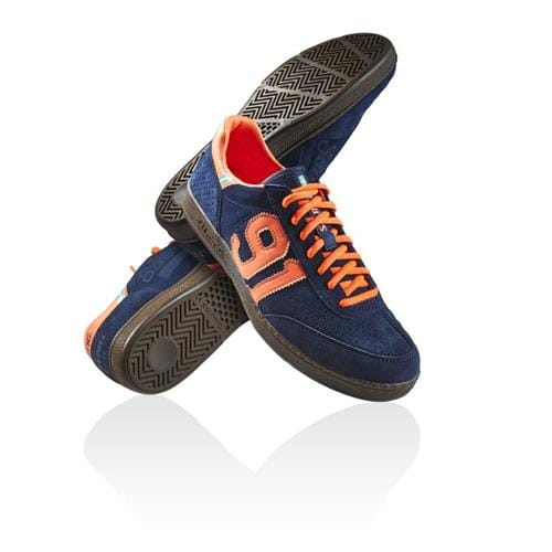 SALMING NinetyOne Navy/Orange 8,5 UK, 43 1/3 EUR